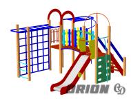 Детский игровой комплекс ДИК 72 - купить у производителя