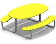 Стол со скамьями детский - купить у производителя