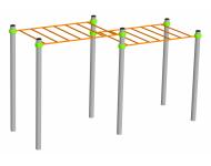 Рукоход двухуровневый (ВК42.1) - купить у производителя
