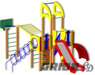 Детский игровой комплекс ДИК-73 - купить у производителя