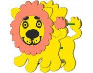 Качалка на пружине «Львёнок» - купить у производителя