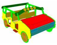 Игровой модуль «Машинка кабриолет» - купить у производителя