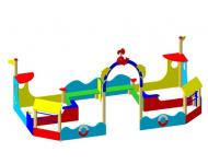 Песочный дворик «Морской бриз» - купить у производителя