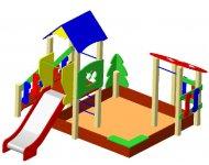 Детский игровой комплекс ДИК-4 «Сад» - купить у производителя