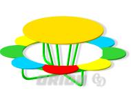 Столик детский «Цветок» - купить у производителя