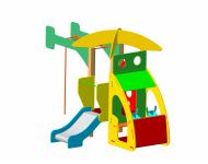 Детский игровой комплекс «Вертолёт» - купить у производителя
